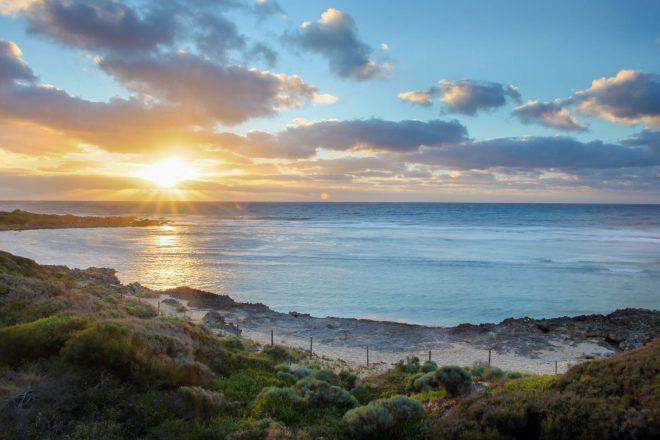 Sunset and Surfside, Yallingup