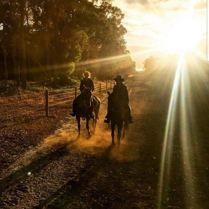Jesters Flat sunset ride
