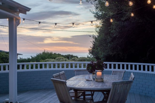 View from Balcony of luxury coastal gem, Surf's Up, Yallingup