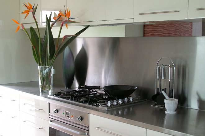 Kitchen at The Roozen Residence, Margaret River