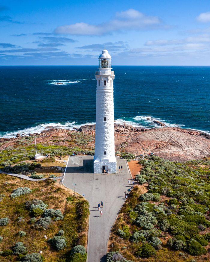 Cape Leeuwin Lighthouse near Augusta.