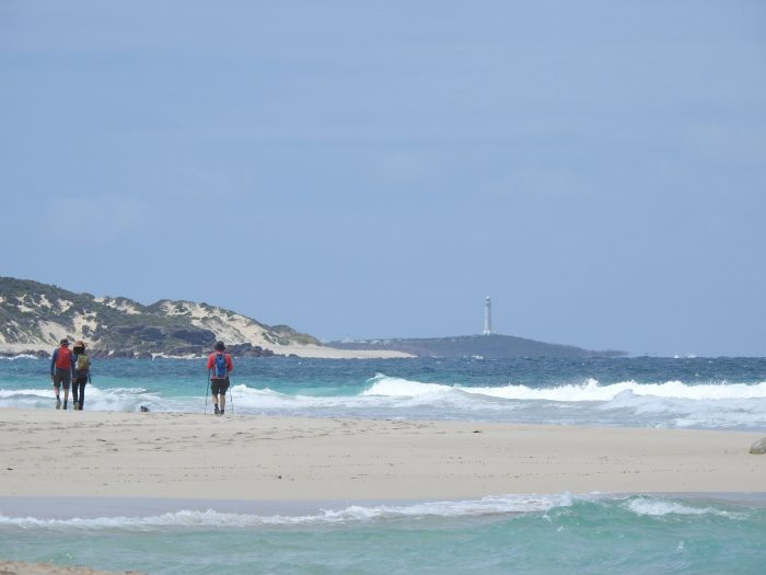 Approaching Cape Leeuwin. Photograph supplied by Cape to Cape Explorer Tours